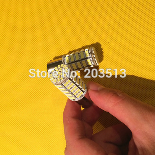 50pcs/lot Car led light S25 P21W 1156 BA15S 127 Leds smd 127SMD light 3020 SMD Auto turn tail parking lamp free shipping.