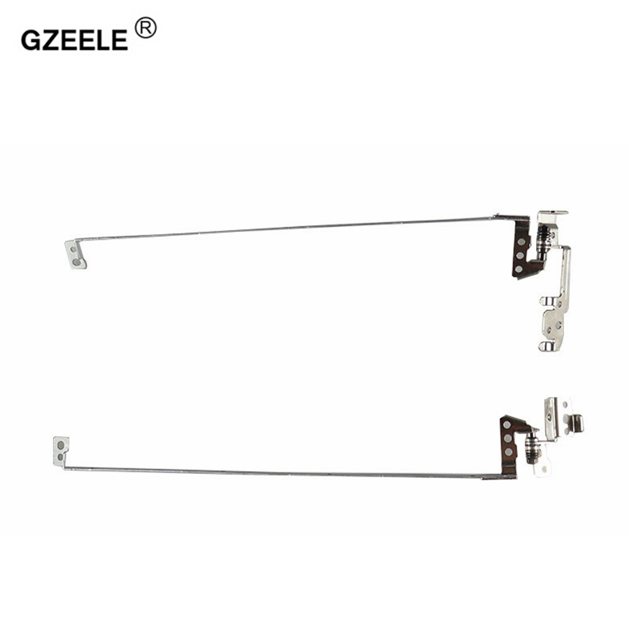 GZEELE New LCD Screen Hinges L+R Set For Lenovo G570 G575 Laptop PN: AM0G000100 G570A Laptop LCD Hinges Left & Right