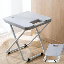 Multi Purpose Creative folding stool portable train folding stool Adult plastic small chair home folding chair bench