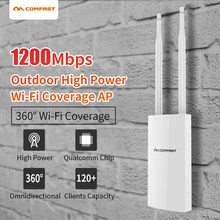 High Power Outdoor Weatherproof 27dbm 1200Mbps 5Ghz Wireless Wifi Router/AP Repeater Dual band dual antenna Wifi Base station AP цена 2017