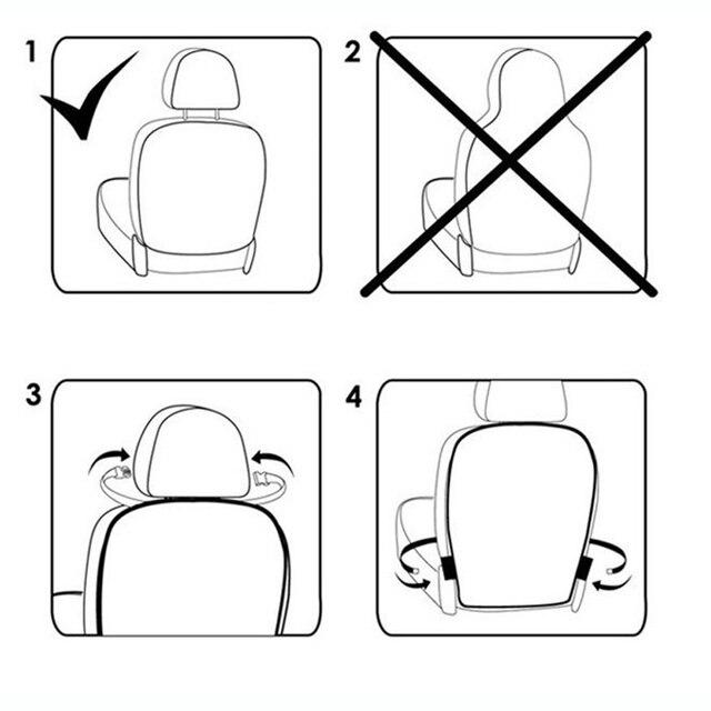 Купить 2017 оксфордская тканевая сумка для хранения на спинку сиденья