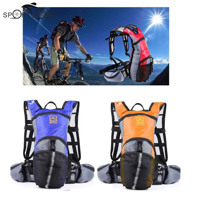 13L Waterproof Cycling Backpack Outdoor Sport Travel Hydration Water Bag Ultralight Bike Bicycle Water Bag