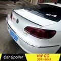 Für Volkswagen CC CARBON FIBER Spoiler Schwarz Auto Schwanz Flügel Dekoration Hinten Trunk Lip Spoiler Für Volkswagen CC 2011- 2015
