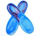 Silicone Anti-Slip Gel Macio Sapato Esporte Ortopédicos Arch Suporte Palmilha Massagem Palmilha Pad Tamanho Grande * 35