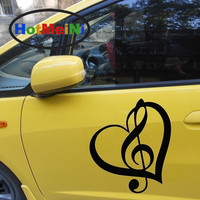 2 X Classical Guitar Sounded Forth On The Treble Clef Love Car Sticker For Wall RV