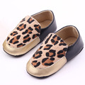 PU Leather Baby Moccasins soft Baby Shoes First Walker newborn shoes Leopard Boys tenis infantil