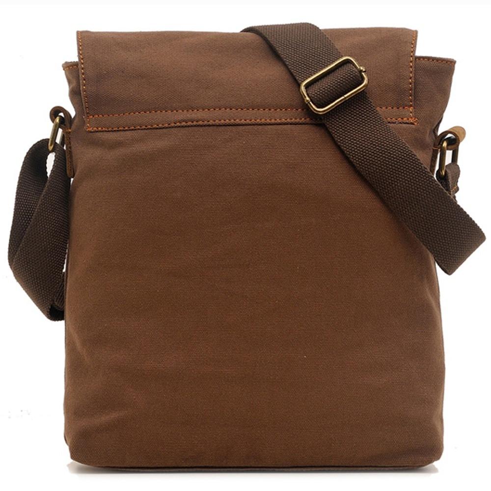 2f7707a959 EcoCity New Fashion Designer Mens Canvas Messenger Bags Boys Bag School  Satchel