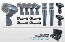 Kit Microfone Tambor Drum Kit de microfone sem Fio Profissional microfone Instrumento Instrumento microfone