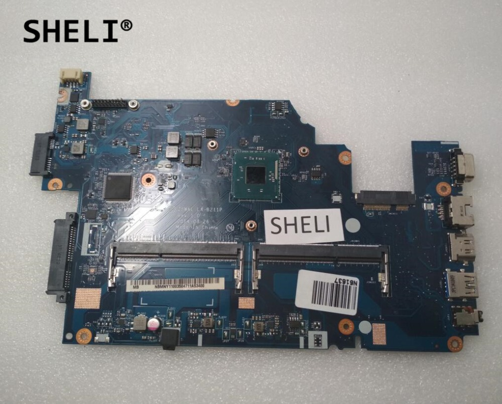 SHELI LA B211P NBMNY11003 For font b ACER b font E5 511 Motherboard with N3540 cpu