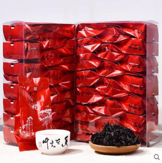 40 Small Packs 300g Top Grade Chinese Dahongpao Big Red Robe Oolong Tea The Original China Healthy Care Da Hong Pao