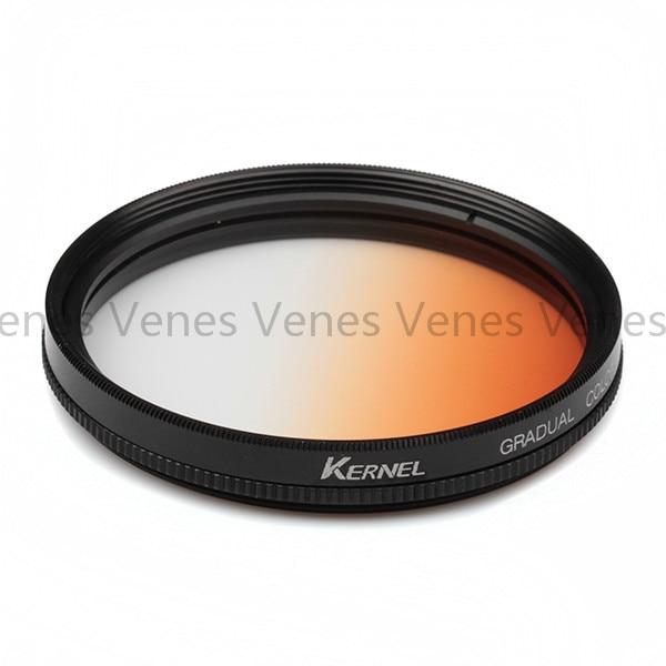 Kernel 62mm Gradual Blue Lens Filter