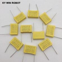 10pcs spacing 22MM 275V 684K 0.68UF 680NF safety capacitor