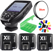 Godox Xpro-N i-TTL II 2.4G X System Wireless Control Remote Trigger with 3* X1R-N Controller Receiver Compatble for Nikon Flash цена