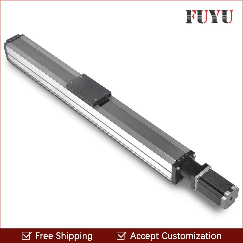 Бесплатная доставка FUYU тяжелая нагрузка 1400 мм ход линейного движения направляющая Пылезащитная водонепроницаемая для станка с ЧПУ