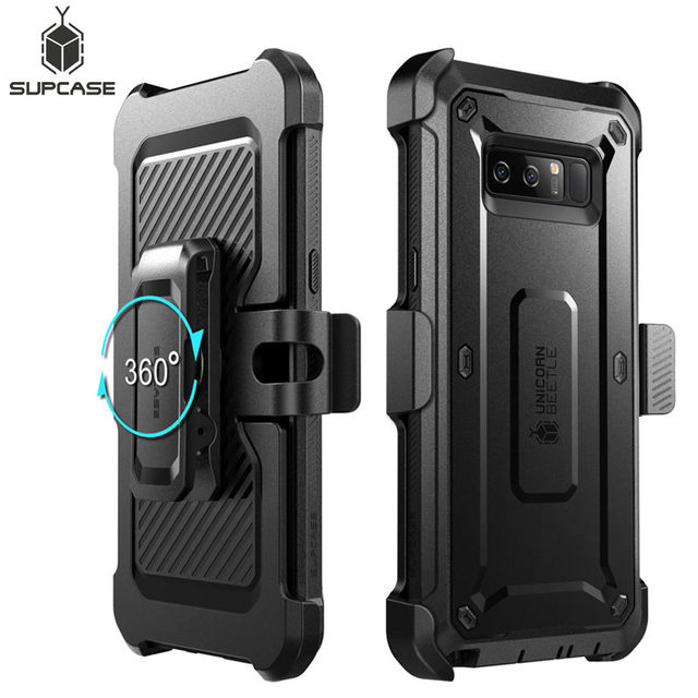 For Samsung Galaxy Note 8 Case SUPCASE UB Pro Series Full Body Rugged Holster Protective Cover with Built in Screen Protector