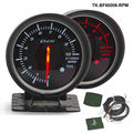 60mm DF BF Auto Tacho Meter Auto Tachometer RPM Gauge Rot und Weiß Licht Für FORD Mustang 4.6L TK BF60006 RPM-in Tachometer aus Kraftfahrzeuge und Motorräder bei