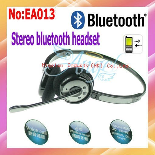 Free shipping wholesale SX-947 Fashion Headband Mini Wireless Bluetooth Headset  For Cell Phone/notebook  #EA013