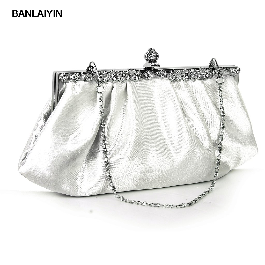 WholeTide 10*AUAU Ivory Party Clutch Bag Banquet Handbag Dress Wedding Bag wholetide 10 marriage gauze bag bag joker bag silver rose