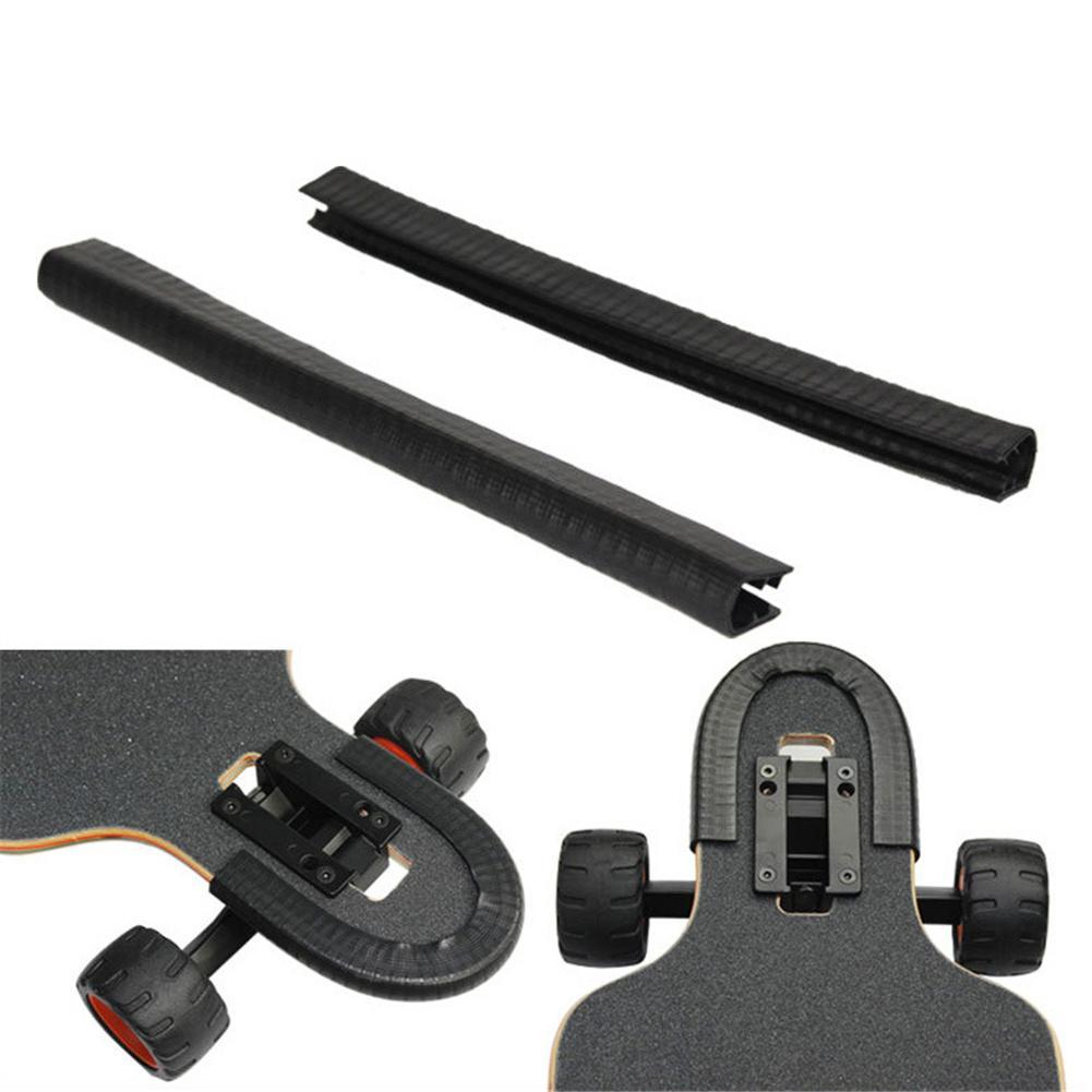 Skateboard Bumper Strip Skate Board Protection Strip Longboard Fish Board Penny Deck Anti-collision Avoid Hurting Accessories