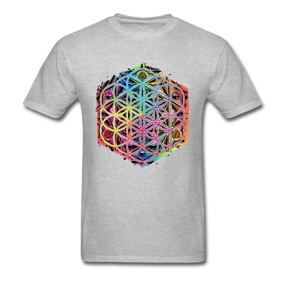 Men's Rainbow Mandala T-Shirt 2