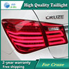Car Styling Tail Lamp for Chevrolet Cruze 2009-2013 Tail Lights LED Tail Light Rear Lamp LED DRL+Brake+Park+Signal Stop Lamp