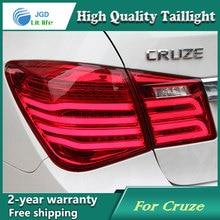 Стайлинга автомобилей Хвост лампы для Chevrolet Cruze 2009-2013 задние фонари светодиодные Фонарь задний светодиодные лампы ДРЛ + тормоз + park + стоп-сигнала лампы