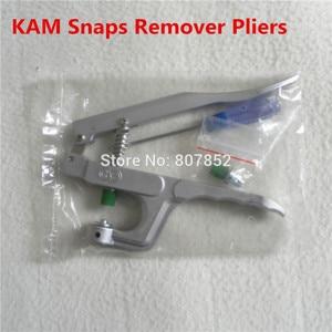 Image 1 - 1 pz KAM Plastica Marca Scatta Bottoni Remover Pinze Kit di Strumenti per rimuovere T5 Formato 20 scatta da Tessuto più veloce DK 003