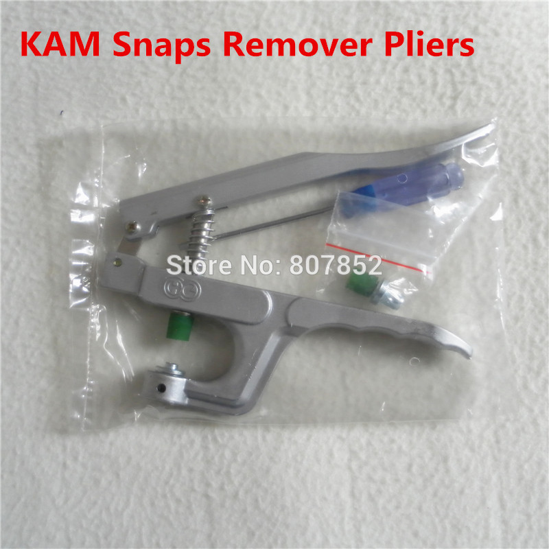 1PC KAM Brand Plastic Snaps Buttons Remover Pliers Tools Kit To Remove T5 Size 20 Snaps From Fabric Faster DK-003