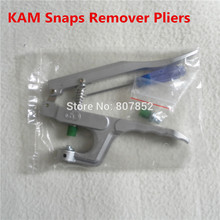 1PC KAM Brand Plastic Snaps Buttons Remover Pliers Tools Kit to remove T5 Size 20 snaps from Fabric faster DK 003