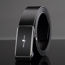 Williampolo 2019 New Arrival Designer Genuine Leather Men Belts High Quality Automatic Buckle Belt Man Strap PL18350-51P