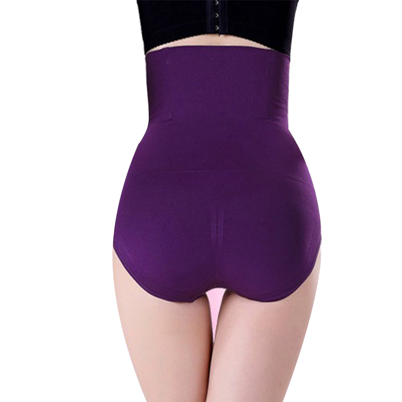 Women High Waist Shaping shapers Panties Breathable Body Shaper Slimming Tummy Underwear Trainer Underpant Knickers hot sale 4