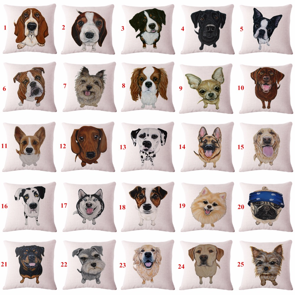 achetez en gros chien housse de coussin en ligne des grossistes chien housse de coussin. Black Bedroom Furniture Sets. Home Design Ideas