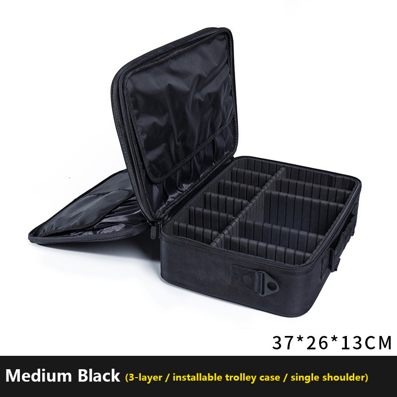 c0d64e27ba04 US $31.96 39% OFF Brand Organizer Travel Fashion Lady Cosmetics Cosmetic  Bag Beautician Storage Bags Large Capacity Women Makeup Bag-in Cosmetic  Bags ...