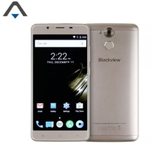 Original Blackview P2 mobile phone 4GB RAM 64GB ROM 5500mAh Octa Core 5.5 inch 13MP Android 6 Fingerprint Smartphone with OTG