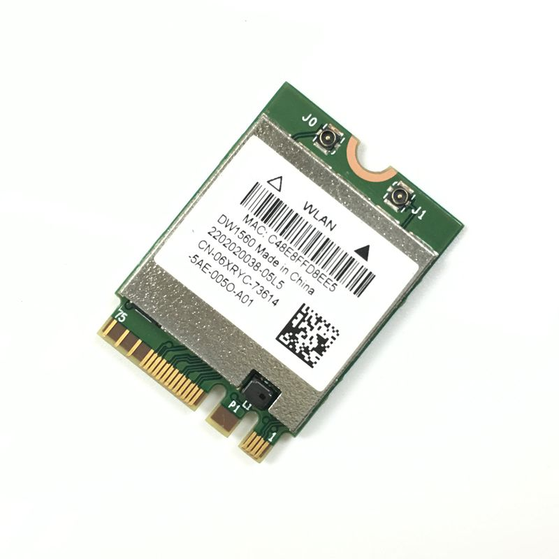 DW1560 BCM94352Z 06XRYC 802.11ac NGFF M2 867Mbps BCM94352 BT4.0 WiFi Wireless Card network card wifi card 2.4G/5GHz(China)