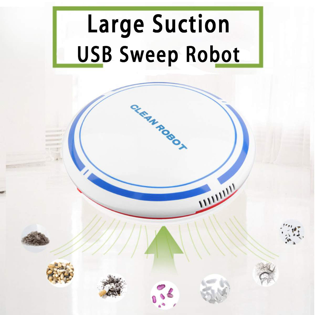 Smart Automatic Robot Vacuum Cleaning Machine Intellegent Floor Sweeping Dust Catcher Carpet Cleaner For Home Automatic Cleaning(China)