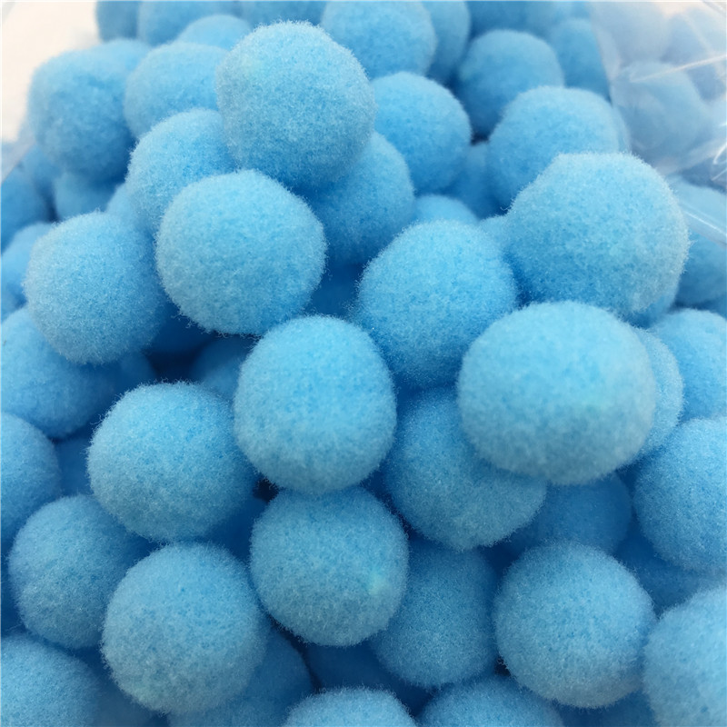 10mm 2000pcs Pompom Wholesale Fur Plush Ball for Craft DIY Soft Garment Sewing Accessories Wedding Home Decoration in Artificial Dried Flowers from Home Garden