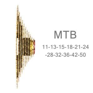 Image 2 - ZTTO Cassette pour vtt 11 vitesses, avec rapport large, avec roue libre dorée ultralégère, VTT, pièces de bicyclette pour gx XX1 m8000