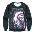 Space/galaxy 3d sweatshirt men 3d hoodies harajuku style funny print YEEZUS sudaderas hombres 2016 Free Shipping
