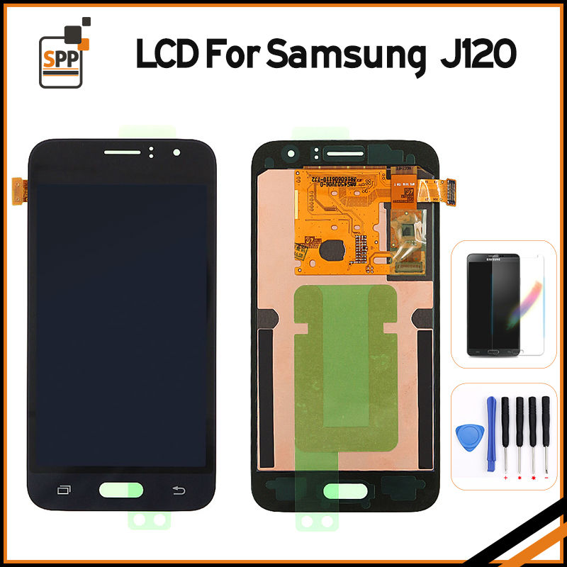 Original new LCD Screen Display Touch Digitizer for Samsung Galaxy J1 J120 J120F J120DS J120G J120H J120M assembly replacement brand new tested lcd display touch screen digitizer assembly for samaung galaxy e5 e500f h hq m f h ds replacement parts