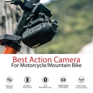 Image 3 - 드리프트 고스트 X MC 액션 카메라 Ambarella 1080P 오토바이 자전거 스포츠 헬멧 미니 캠 암 12MP CMOS 로터리 렌즈 와이파이
