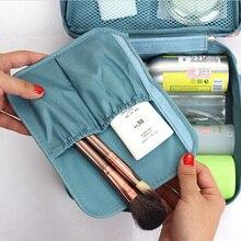 JIARUO Outdoor Girl Makeup Bag Women Cosmetic Bag Wash Toiletry Make Up Organizer Storage Travel Kit Bag Multi Pocket Ladies Bag