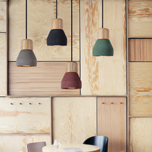 цены Vintage Loft Pendant Lamp Wood Cement Pendant Lights Modern Light Led E27 Cord Kitchen Light Restaurant Living Room Cafe Bedroom