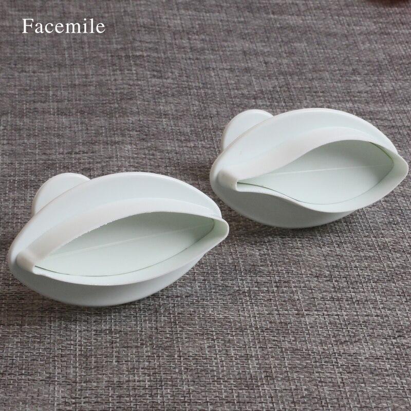 ộ_ộ ༽2 unids/set plástico lirio pétalo fondant cake decoración ...