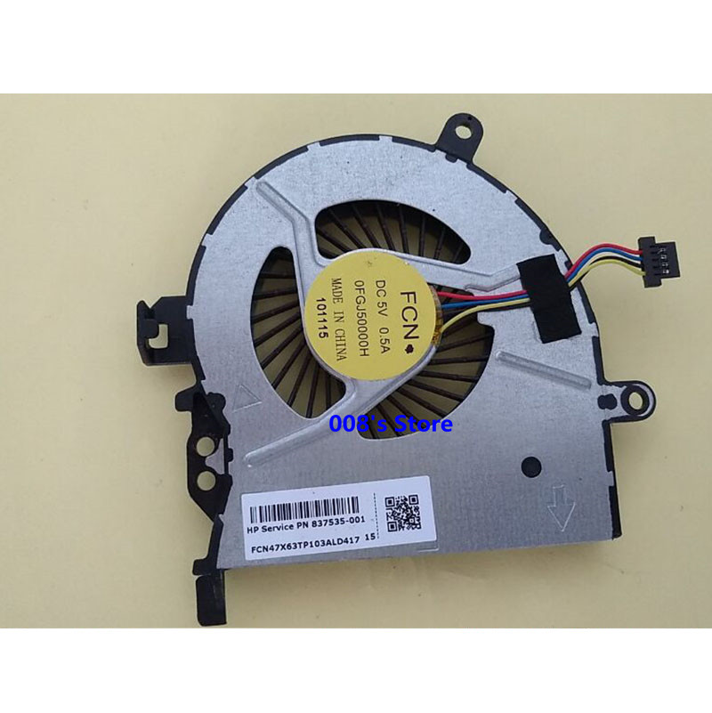 New Laptop CPU Cooler Radiator Fan For HP Probook 450-G3 450 G3 455 G3 470 G3 837535-001 FCN DC 5V 0.5A 0FGJ50000H