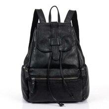 071017 Новые популярные женские модные кожаные рюкзак леди дорожная сумка
