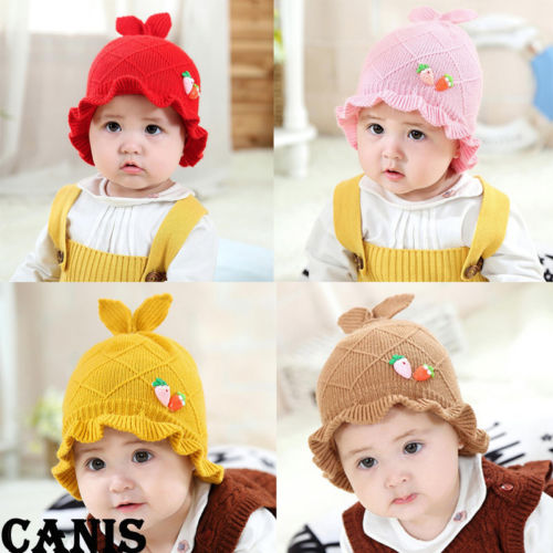Baby Winter Beanie Unisex Kids Boy Girl Warm Cute Hooded Cap Star Knitted Hat Fashion Hot Selling Durable In Use Accessories