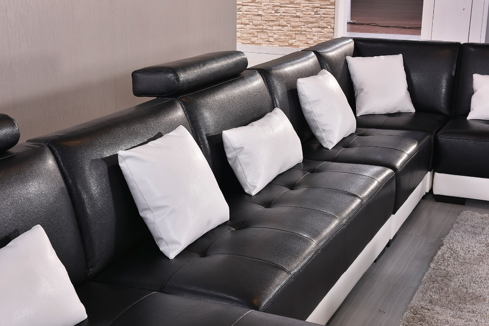 2018 Real Muebles Muebles De Sala Rushed Sectional Sofa Design U