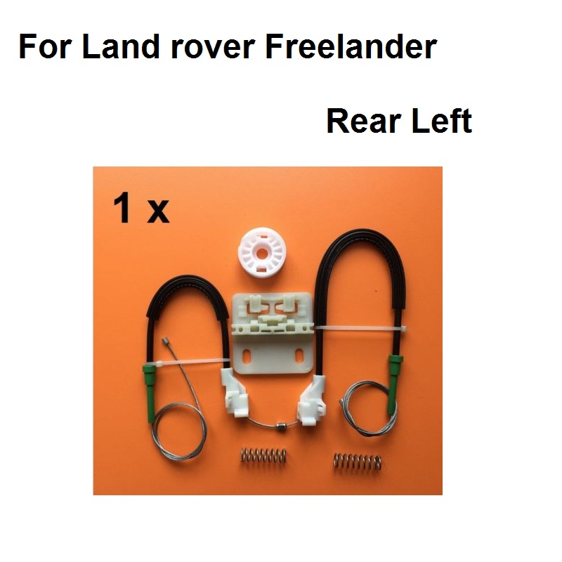 For Land Rover Freelander Window Regulator Repair Kit With Cables- Rear Left 1996-2006