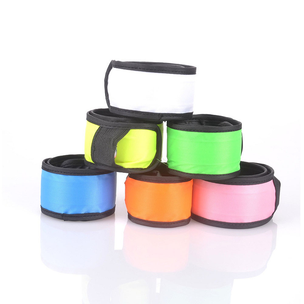 Hot Sale Night Party Led Flashing Light Bracelets Plus Size Waterproof Safety Rescue Bangle Nightclub Glow Wrist strap BS